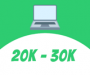 Laptops between Rs. 20k to 30k