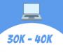 Laptops between Rs. 30k to 40k
