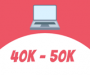 Laptops between Rs. 40k to 50k